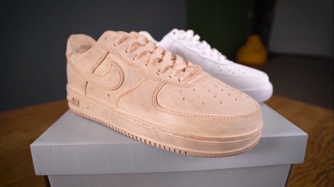 wooden nike air force