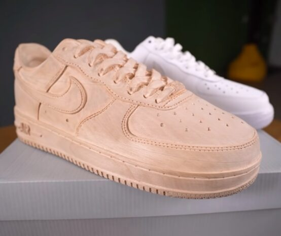 How To Turn a Block Of Wood Into A Nike Air Force Shoe Replica