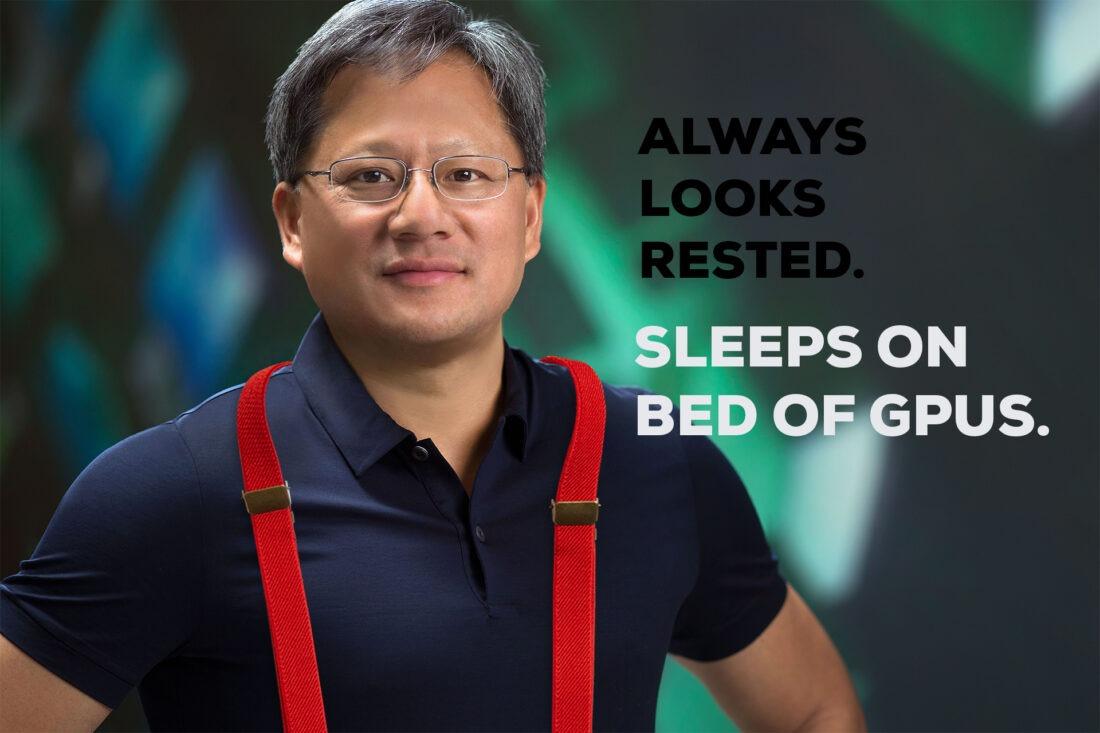 Jensen Huang, NVIDIA CEO, Ampere GPU