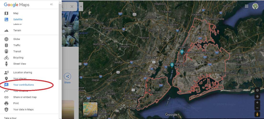 google maps blurring