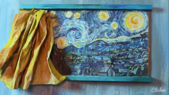 van gogh stop motion painitings