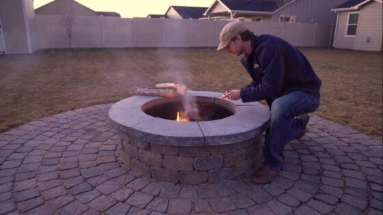 fire pit assembly