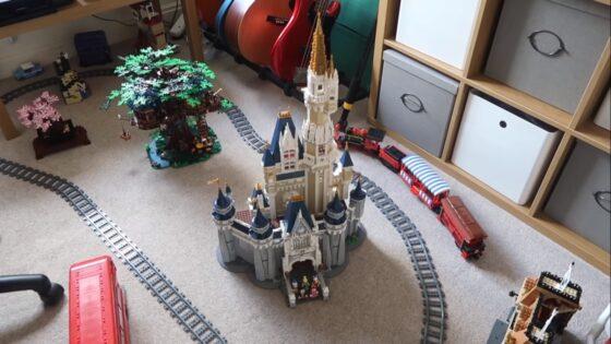 inside lego railway