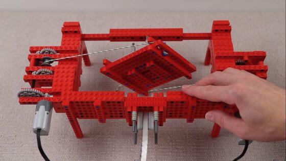 LEGO breaking aluminum
