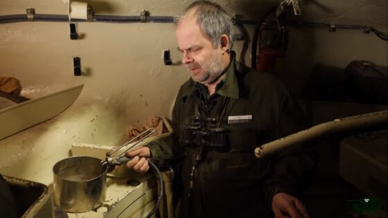 cooking inside a tank