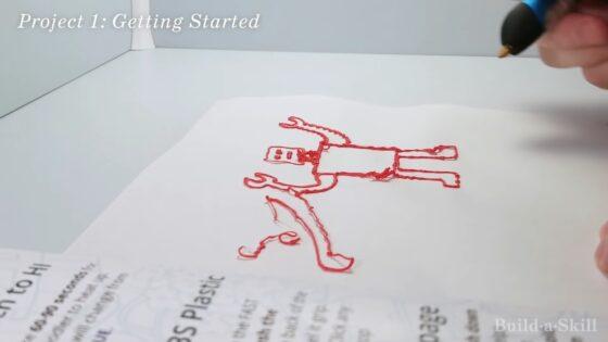 learning 3d pen