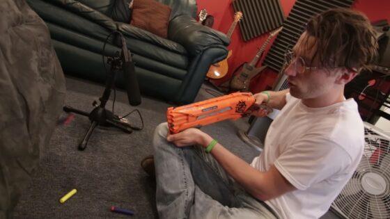 nerf gun cinematography