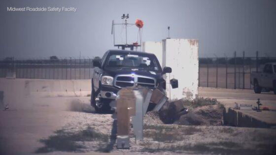 road barrier safety design