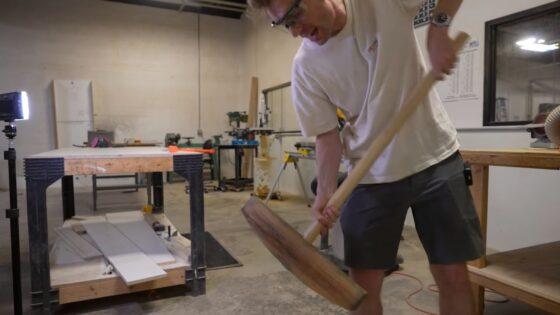 minecraft wooden pickaxe irl