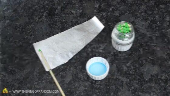 matchstick rocket kit