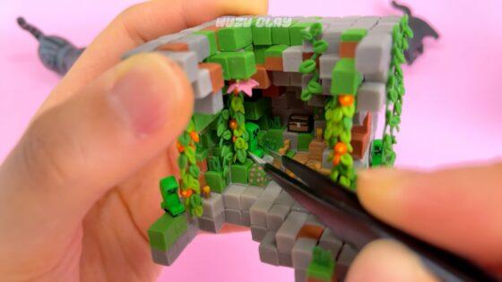 mini nminecraft cave
