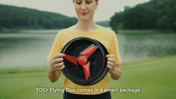 tosy flying duo